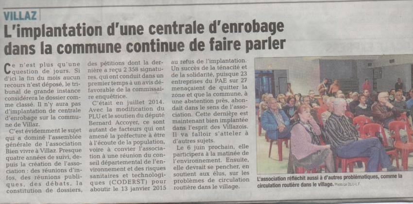 Articles du Dauphiné libéré et Essor